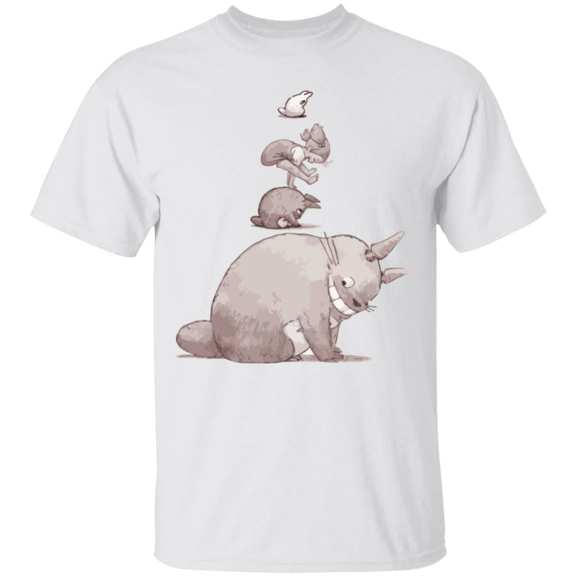 Totoro – Jump over the cow playing T Shirt