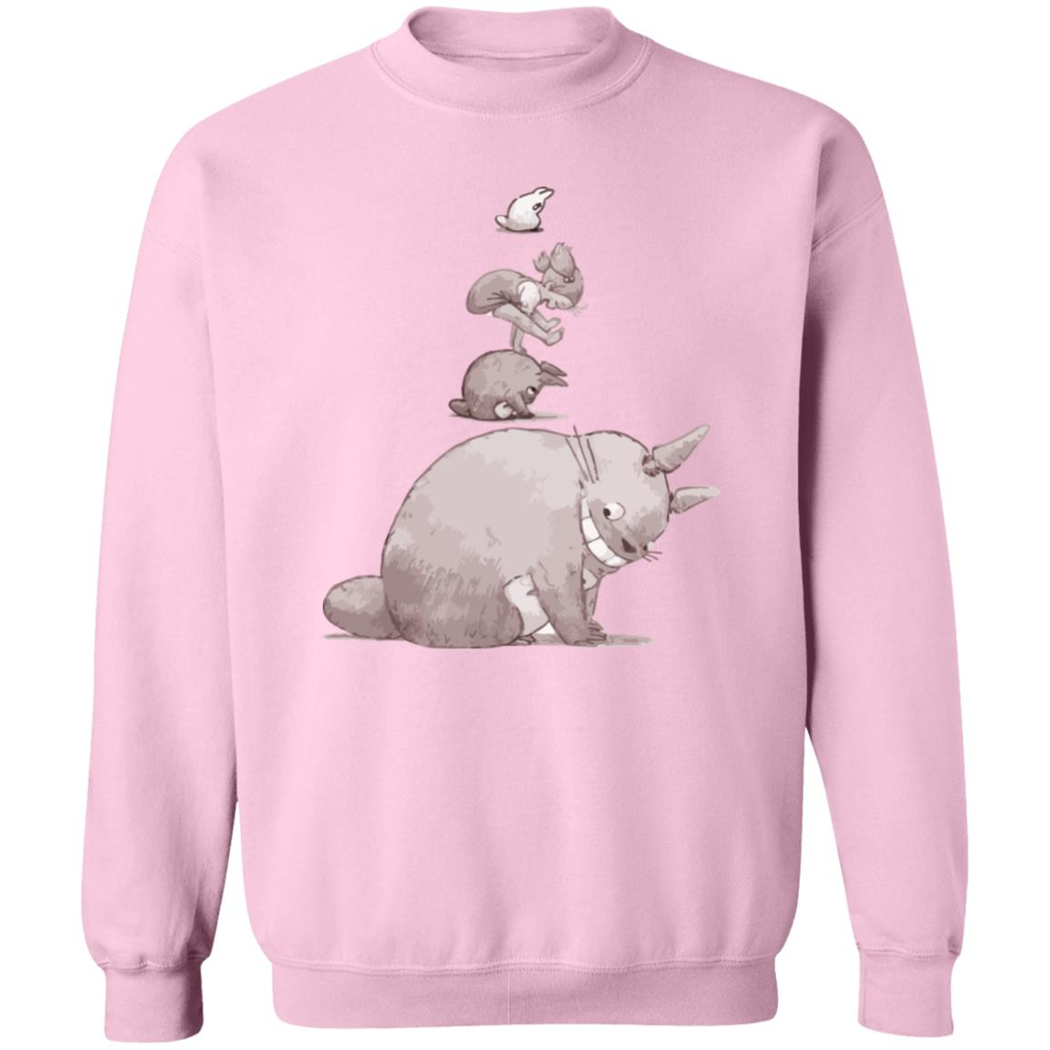Totoro – Jump over the cow playing Sweatshirt