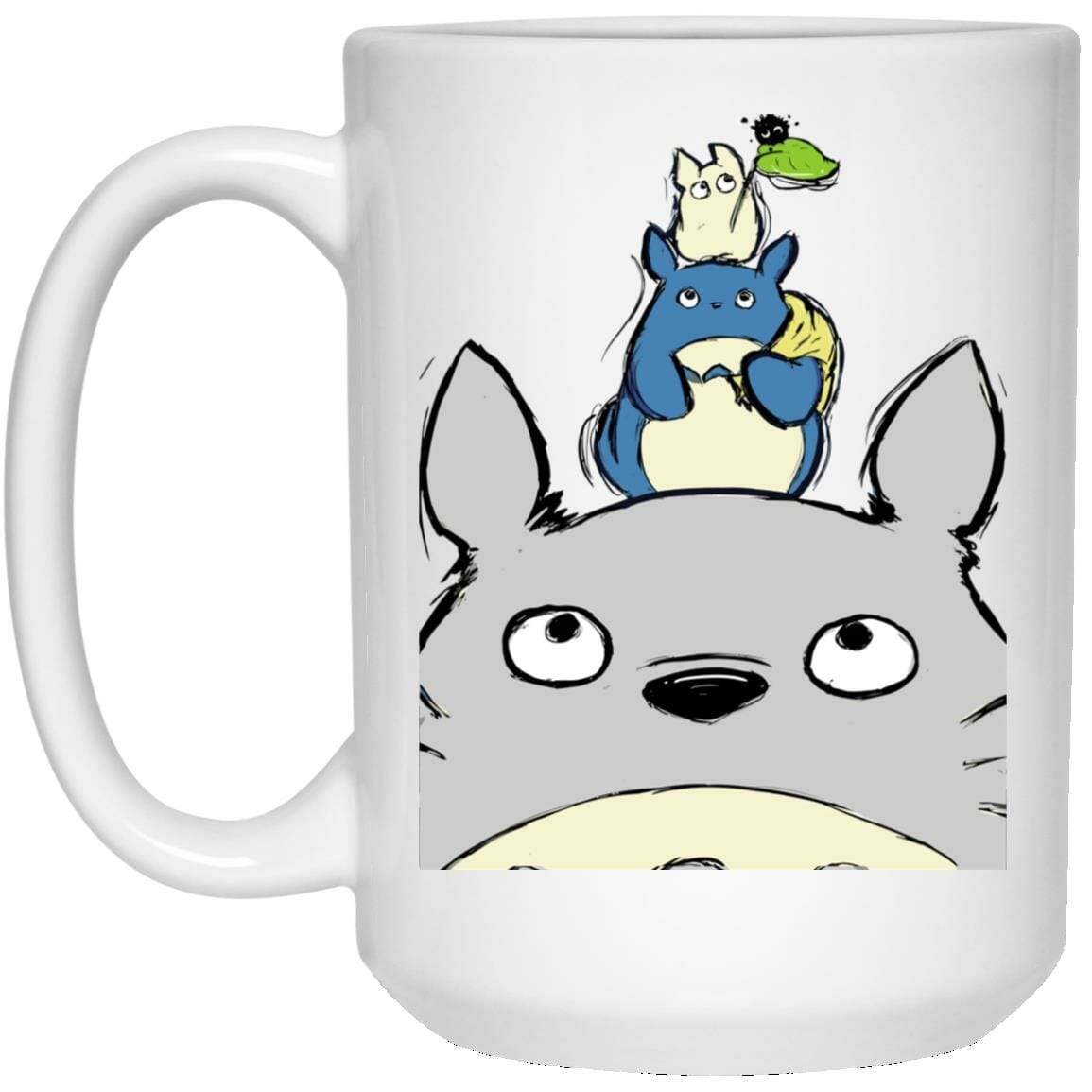 Totoro Family Mug