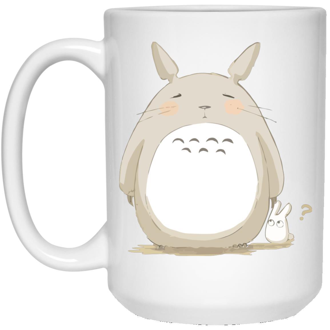 Cute Totoro Pinky Face Mug