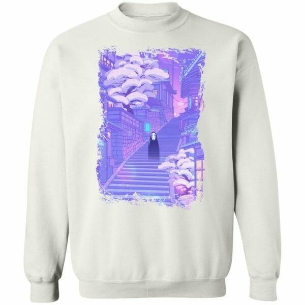 Spirited Away Kaonashi in the Sunset Sweatshirt