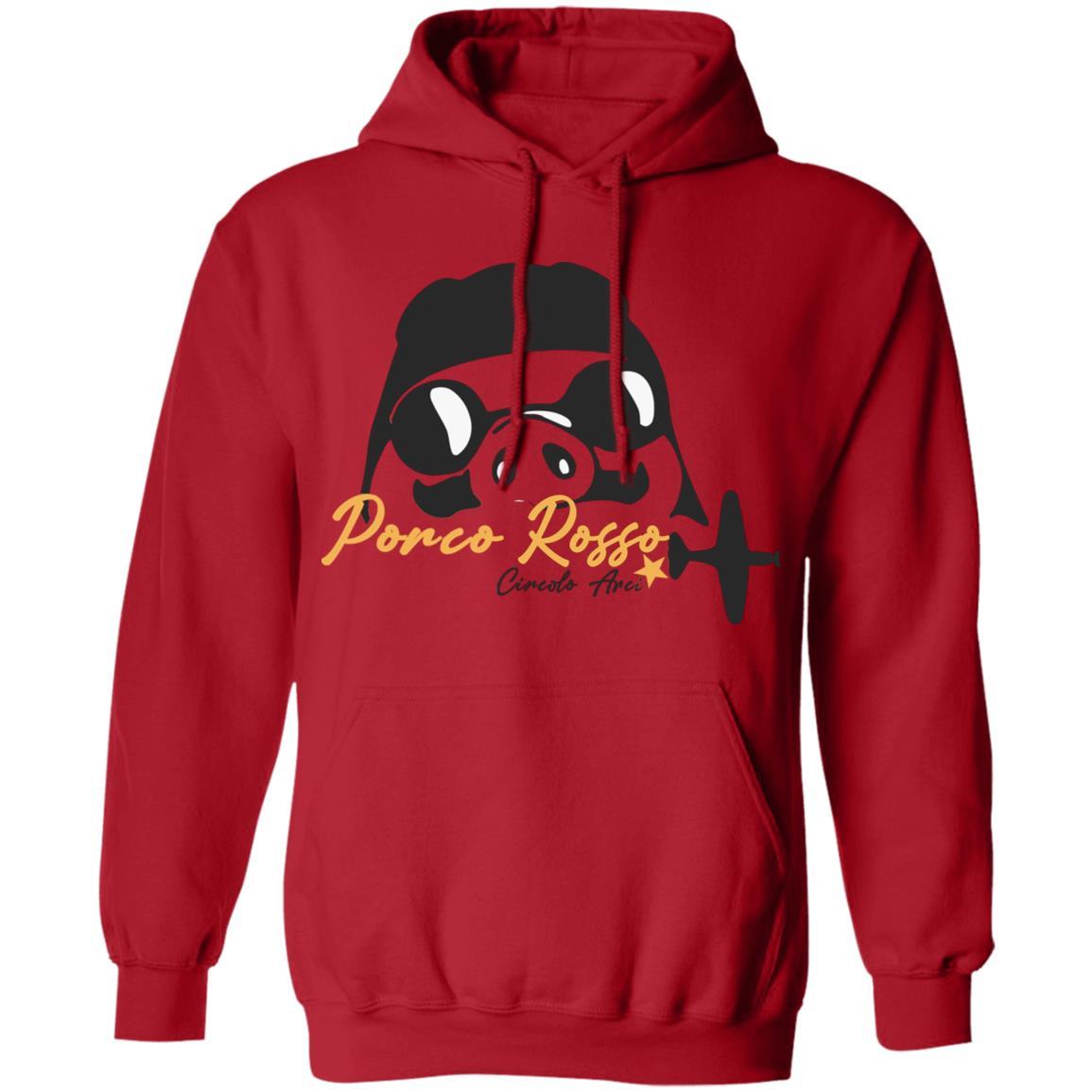 Porco Rosso Logo Hoodie Unisex