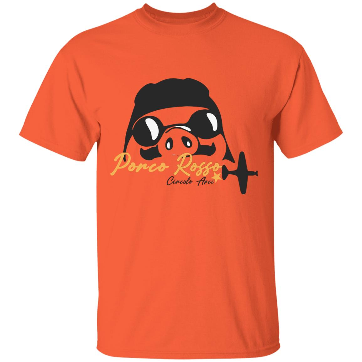 Porco Rosso Logo T Shirt Unisex