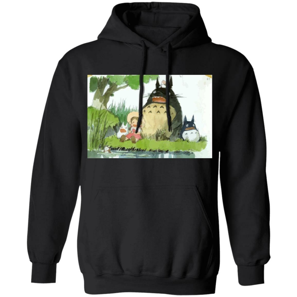 My Neighbor Totoro Picnic Fanart Hoodie Unisex