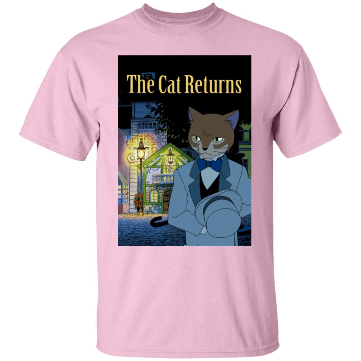 The Cat Returns Poster T Shirt Unisex