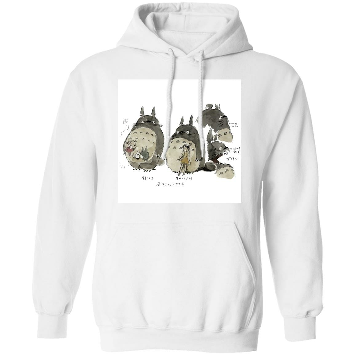My Neighbor Totoro Sketch Hoodie Unisex