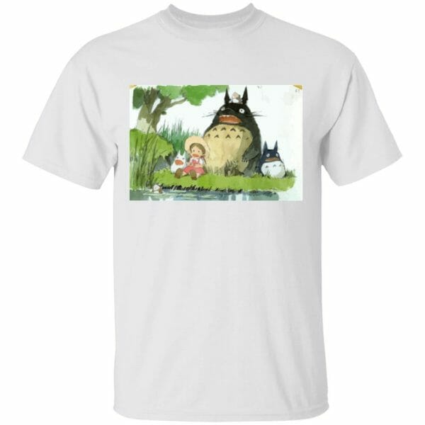 My Neighbor Totoro Picnic Fanart T Shirt Unisex