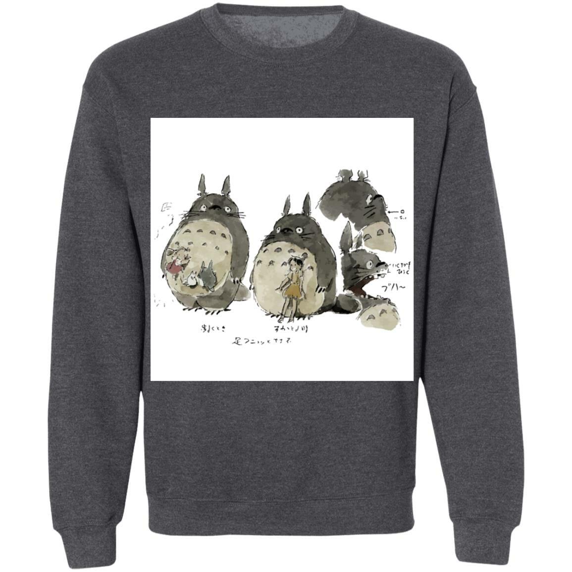 My Neighbor Totoro Sketch Sweatshirt Unisex