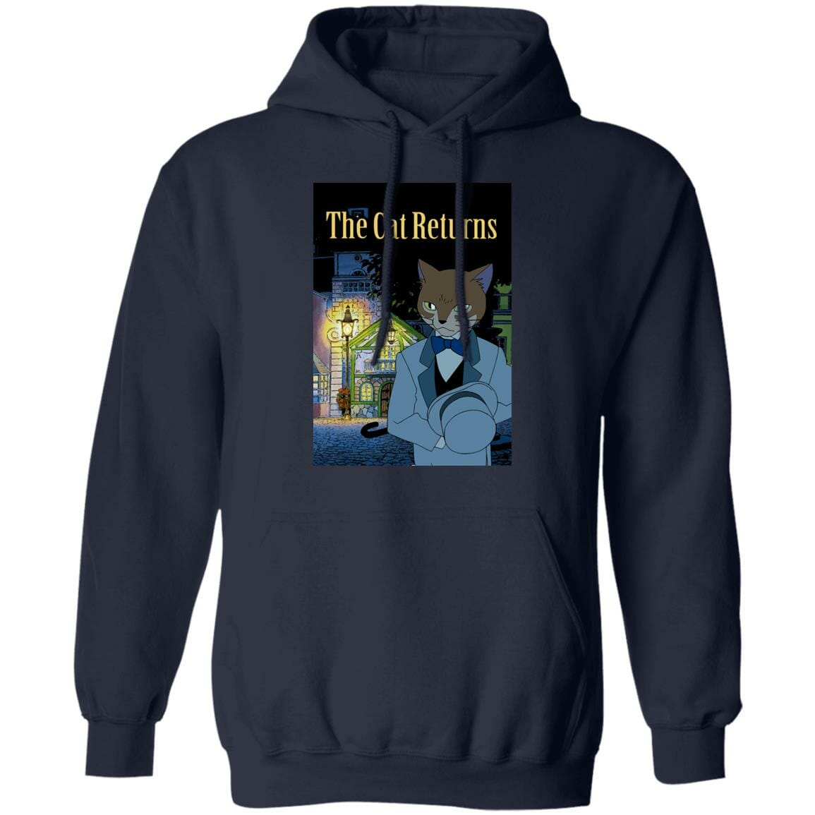 The Cat Returns Poster Hoodie Unisex