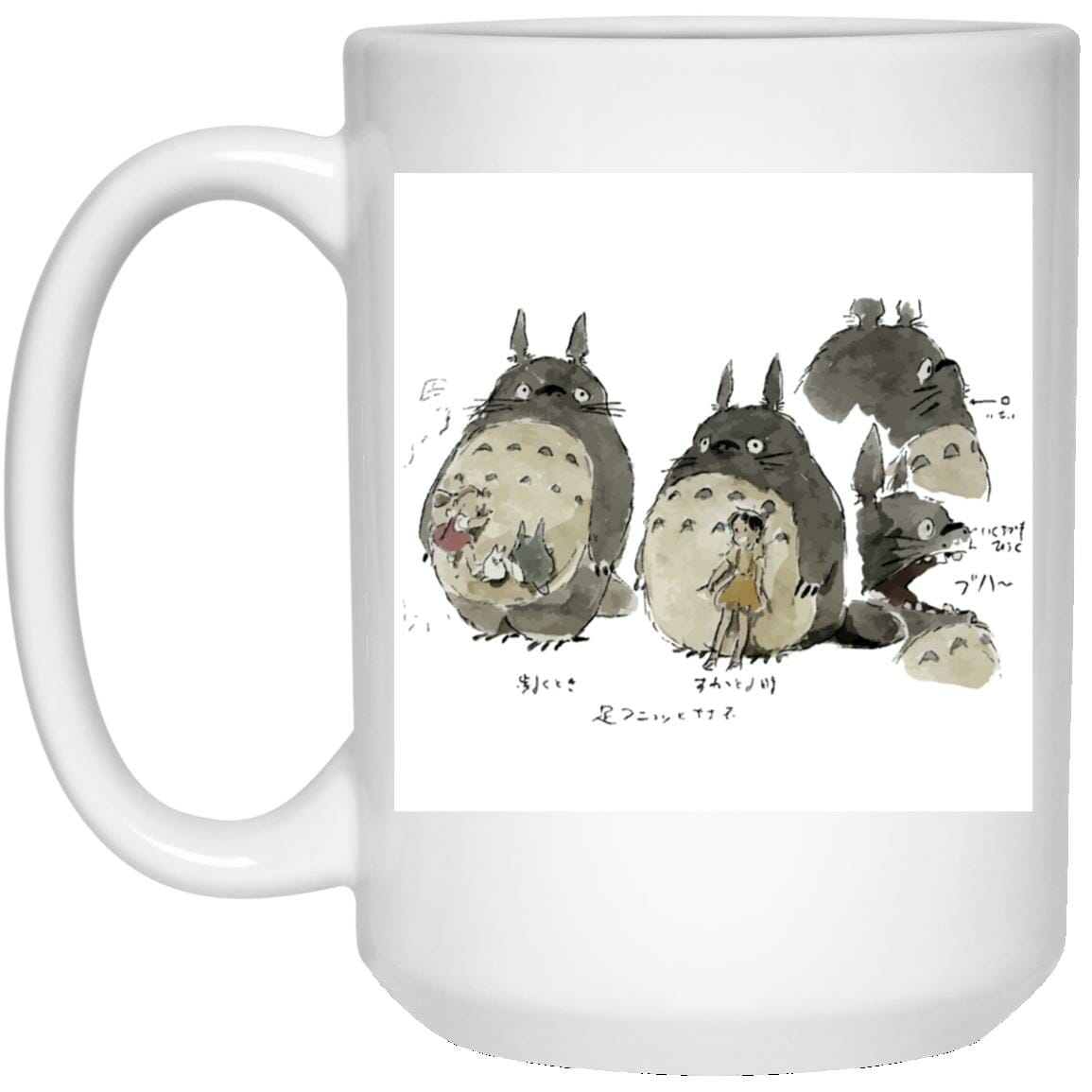 My Neighbor Totoro Sketch Mug