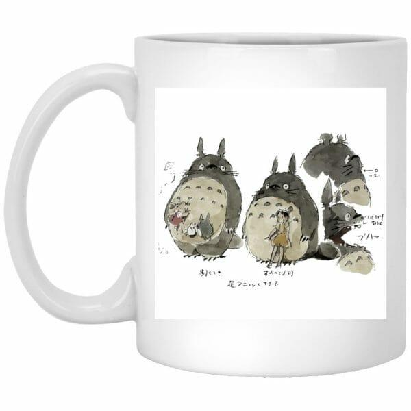 My Neighbor Totoro Sketch Mug