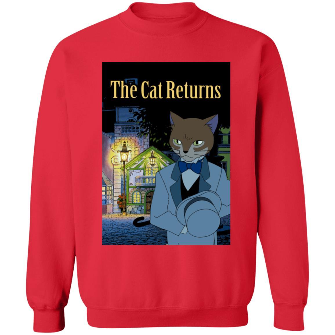 The Cat Returns Poster Sweatshirt Unisex