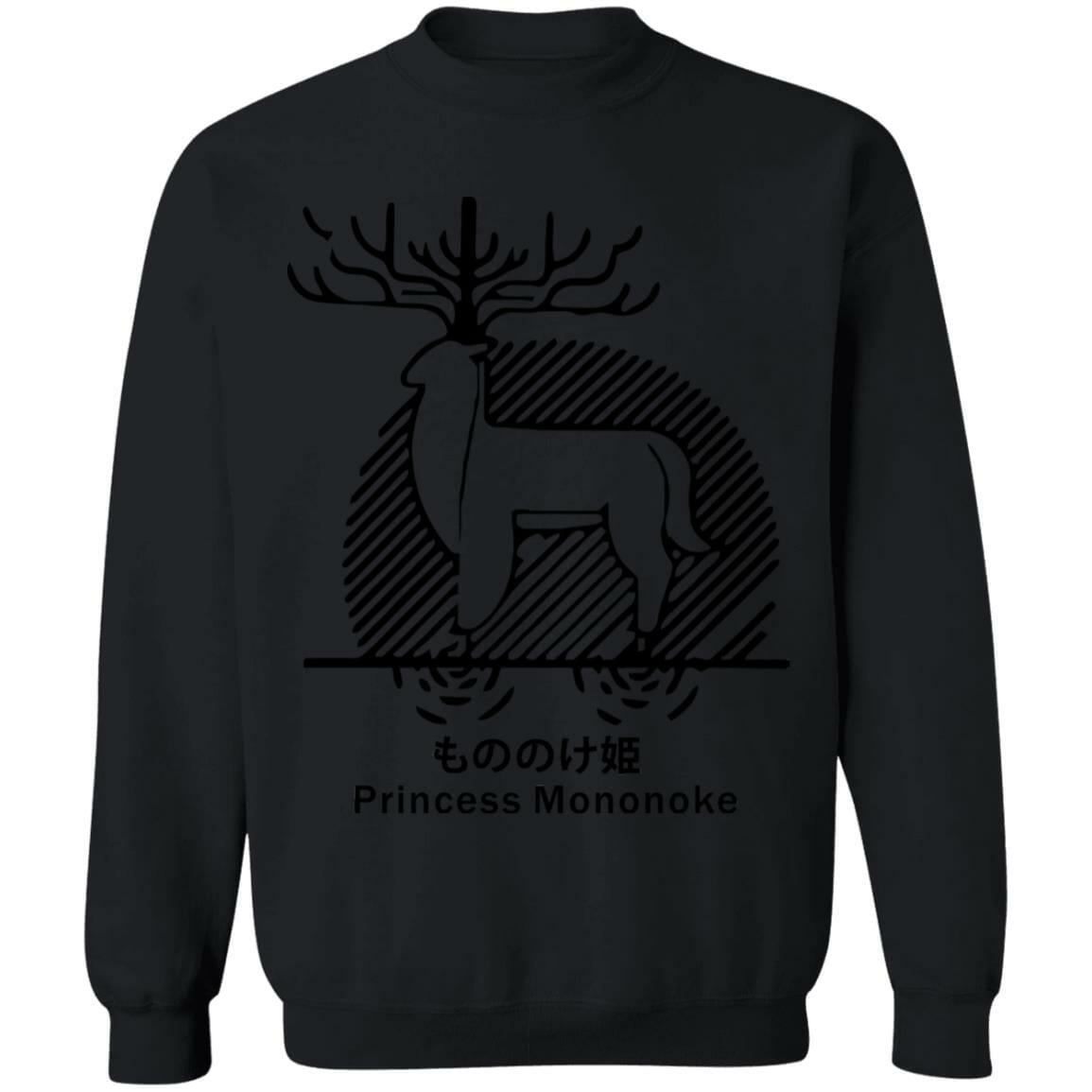 Princess Mononoke – Shishigami Line Art Sweatshirt Unisex