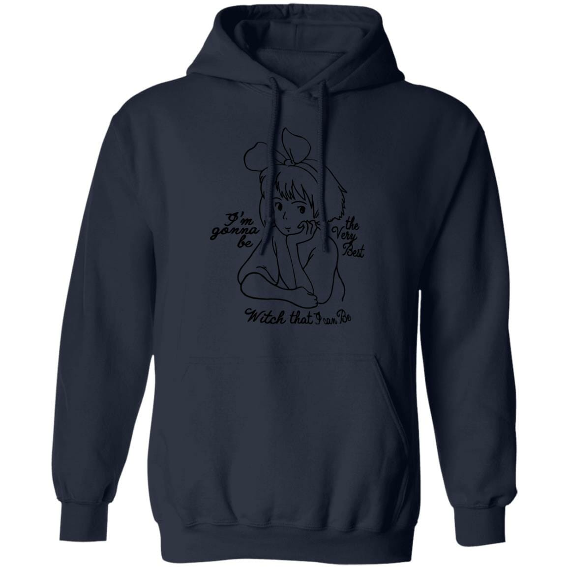 Kiki's Delivery Service – Kiki the Best Witch Hoodie Unisex