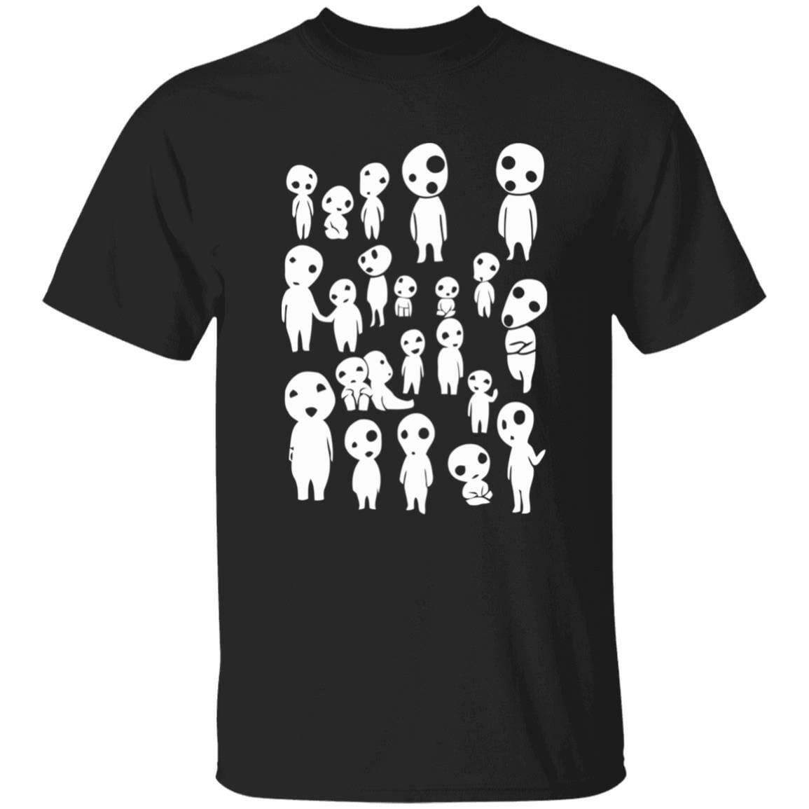 Princess Mononoke – Tree Spirits T Shirt