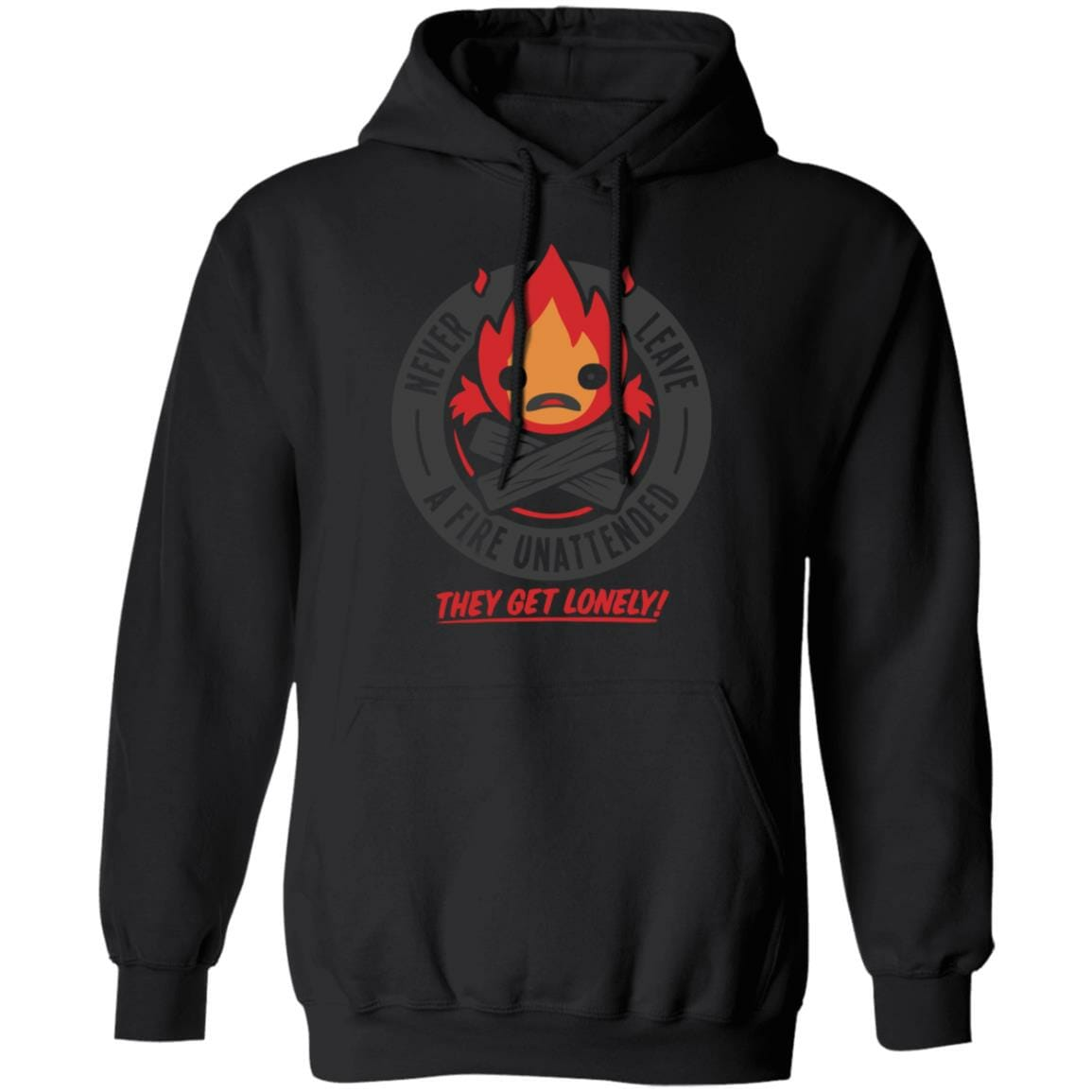 Howl's Moving Castle – Never Leave a Fire Hoodie
