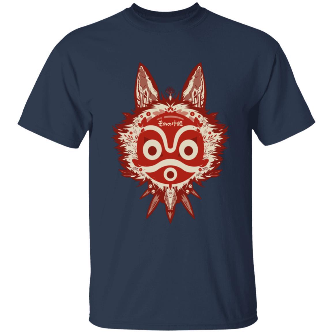Princess Mononoke Mask T Shirt Unisex