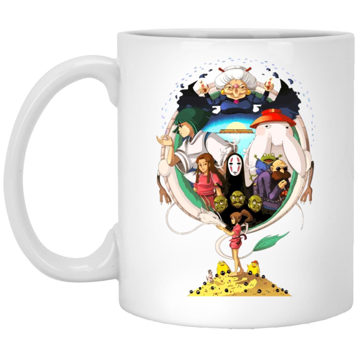 Spirited Away Characters Compilation Mug