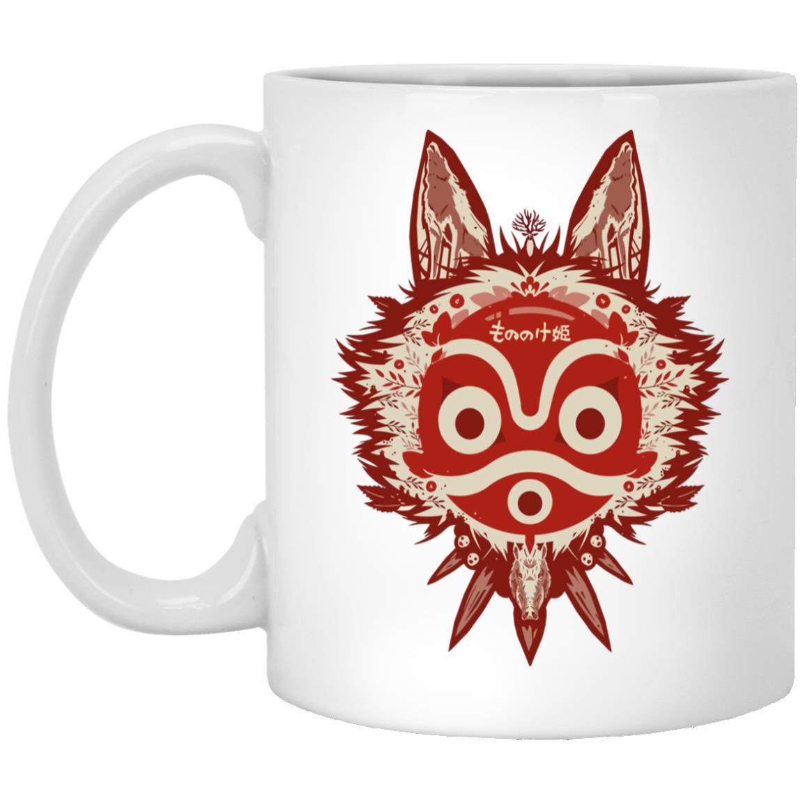 Princess Mononoke Mask Mug