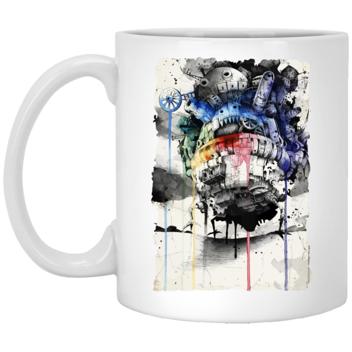 Howl's Moving Castle Impressionism Mug