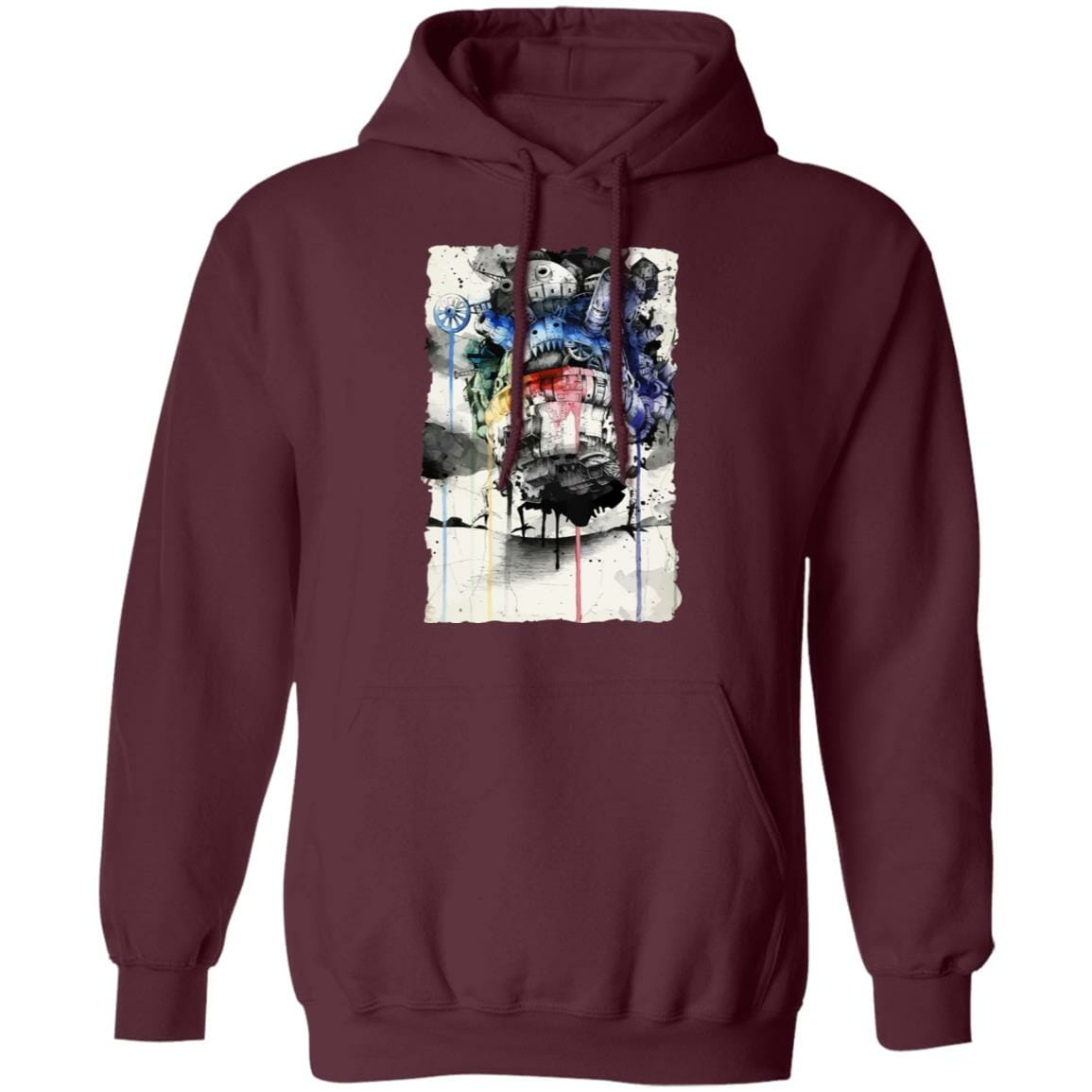 Howl's Moving Castle Impressionism Hoodie