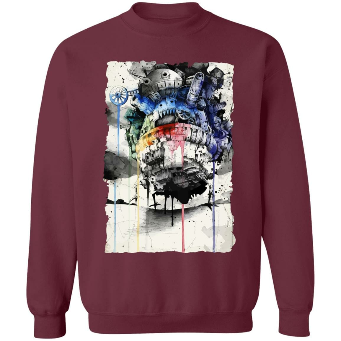 Howl's Moving Castle Impressionism Sweatshirt