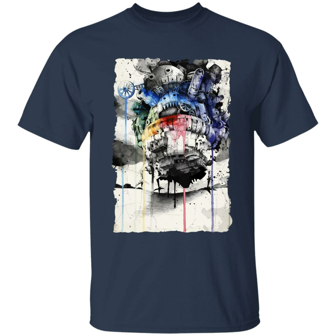 Howl's Moving Castle Impressionism T Shirt