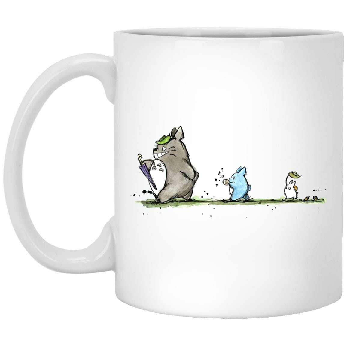 Totoro Family Parade Mug