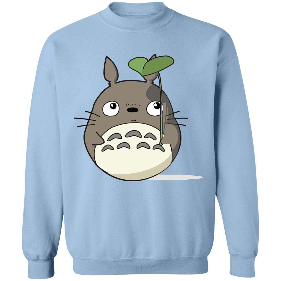 Totoro and the Leaf Umbrella Sweatshirt