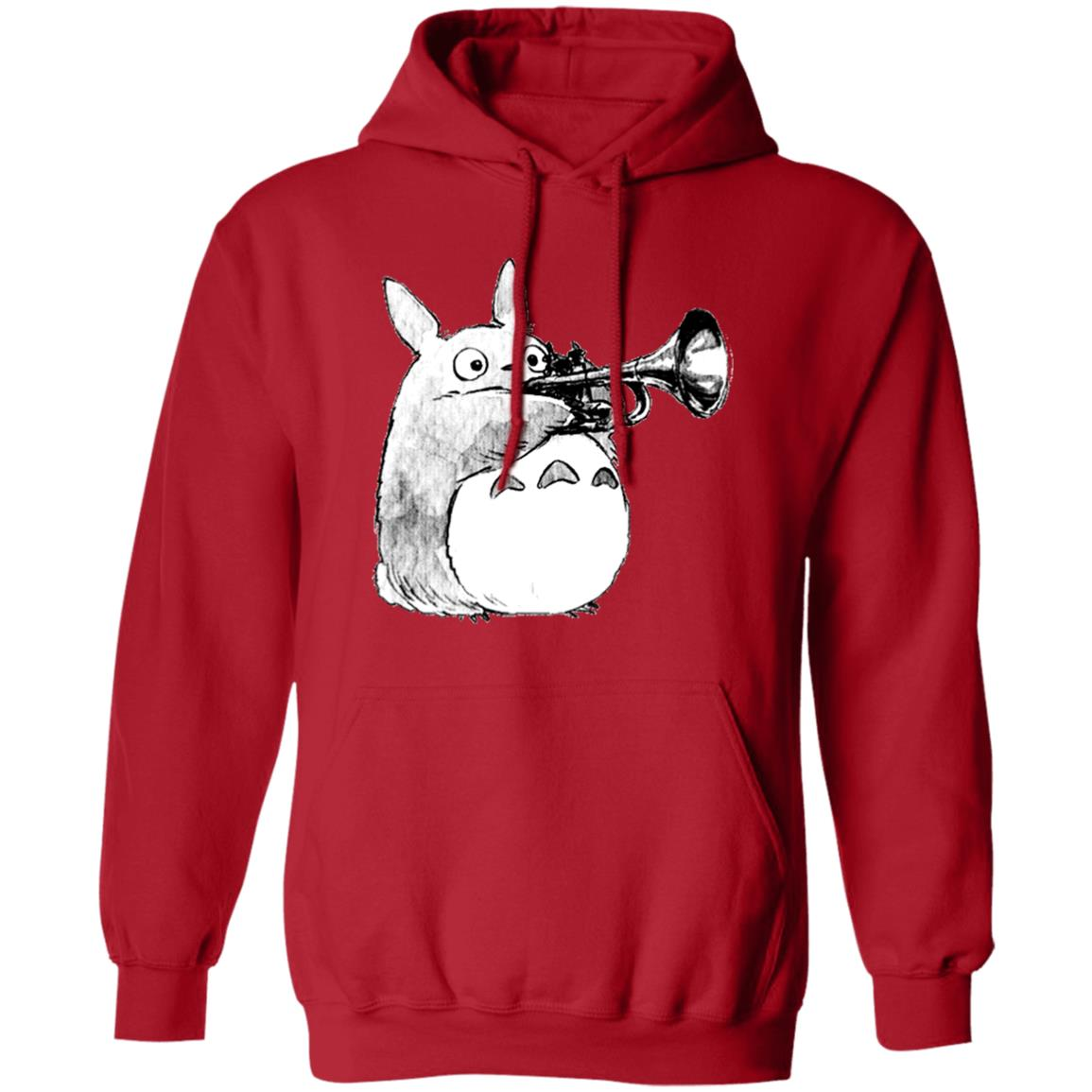 Totoro and the trumpet Hoodie
