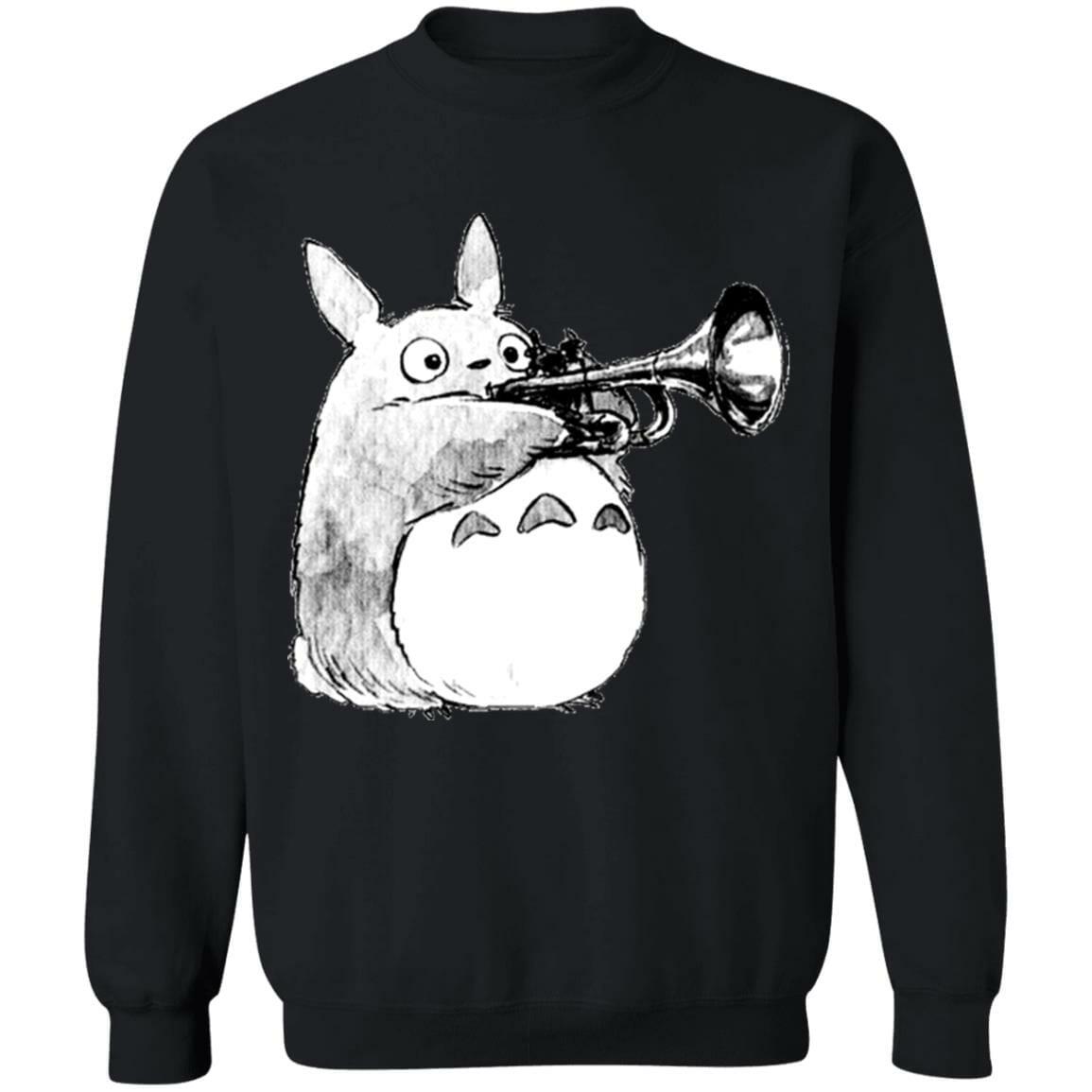 Totoro and the trumpet Sweatshirt