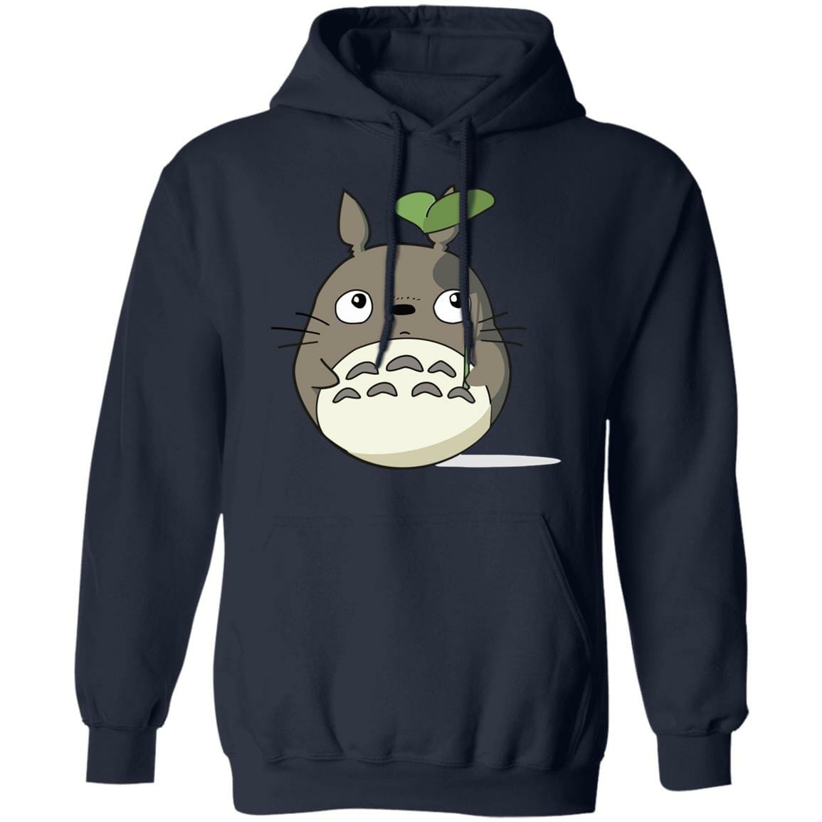 Totoro and the Leaf Umbrella Hoodie