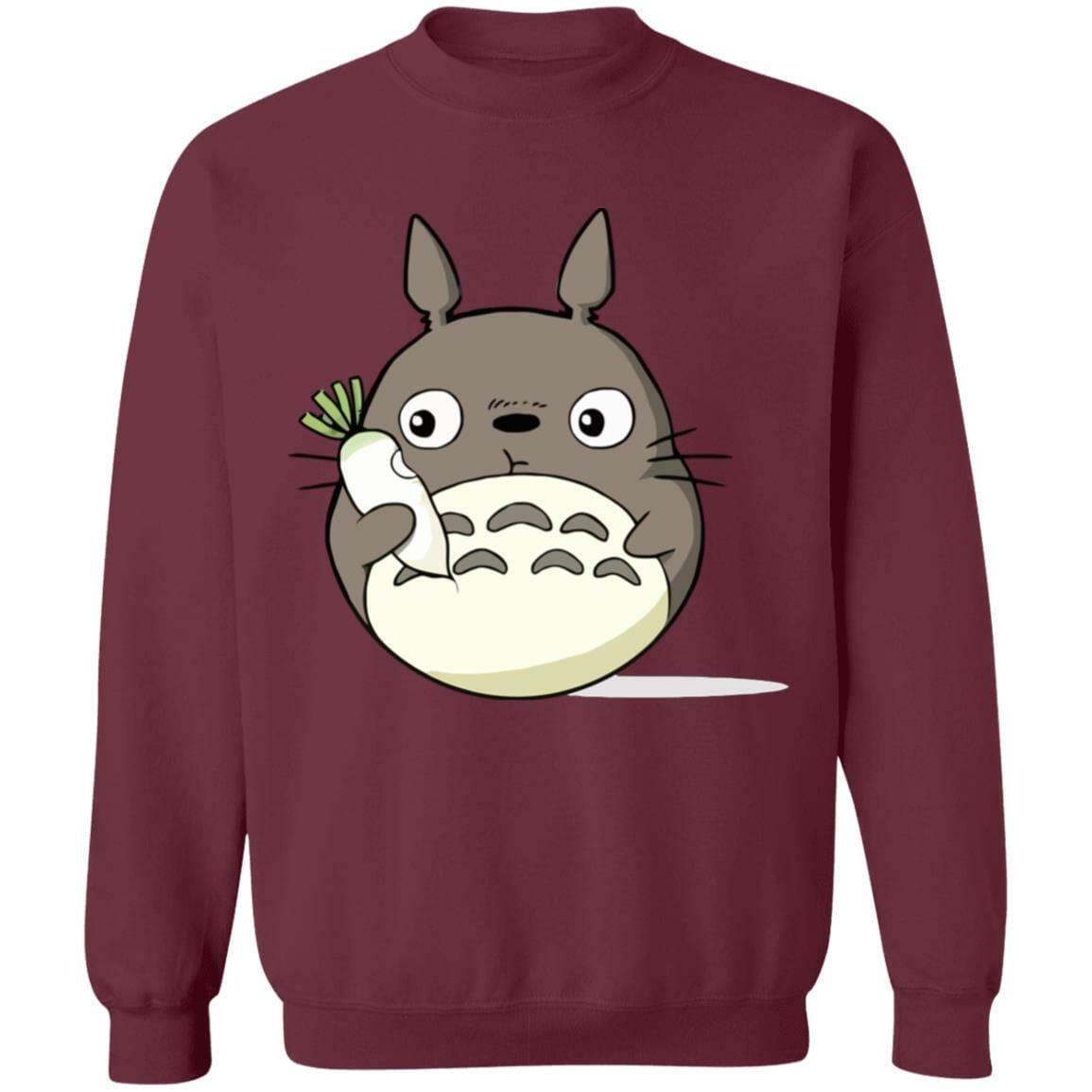 Totoro Eating Turnip Sweatshirt