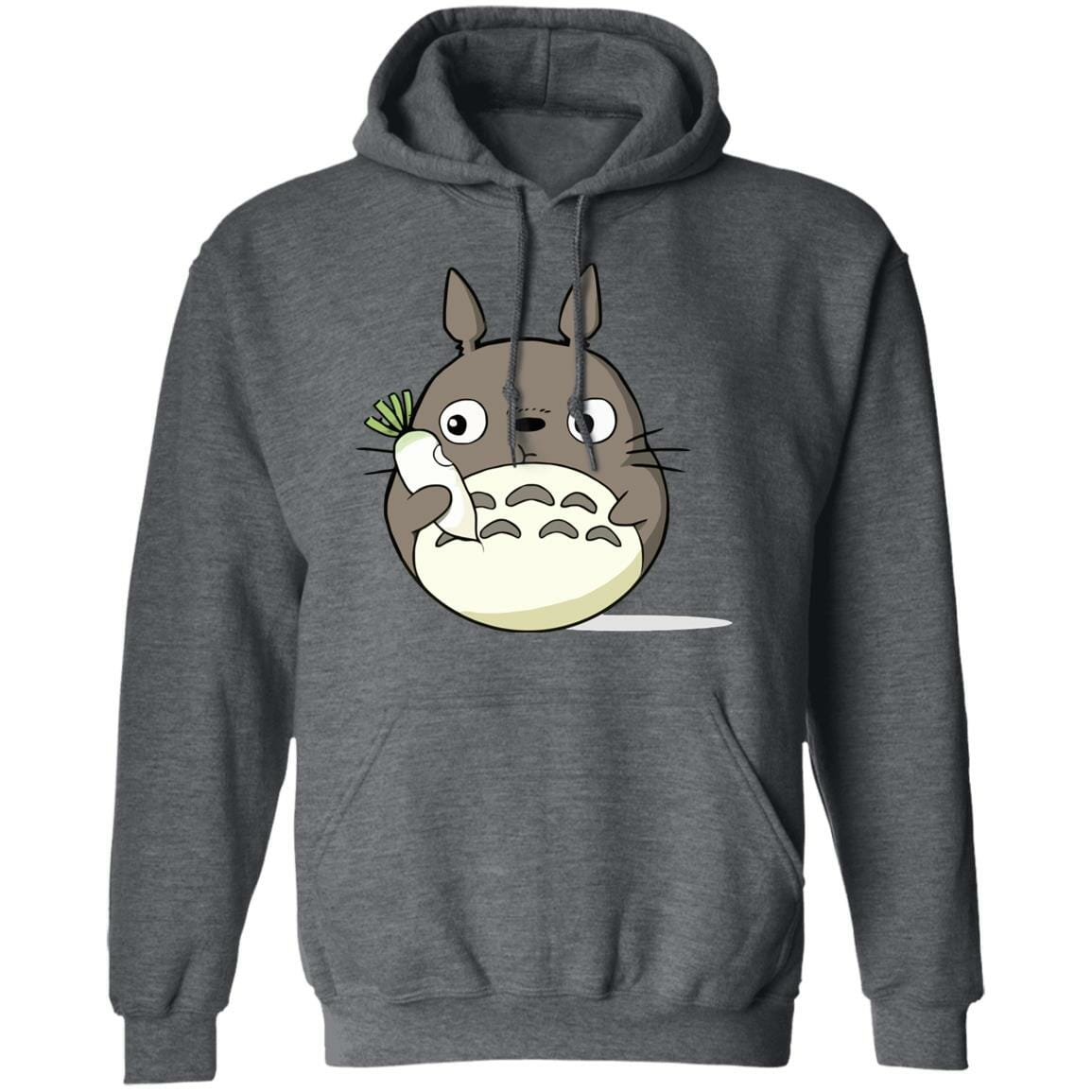 Totoro Eating Turnip Hoodie