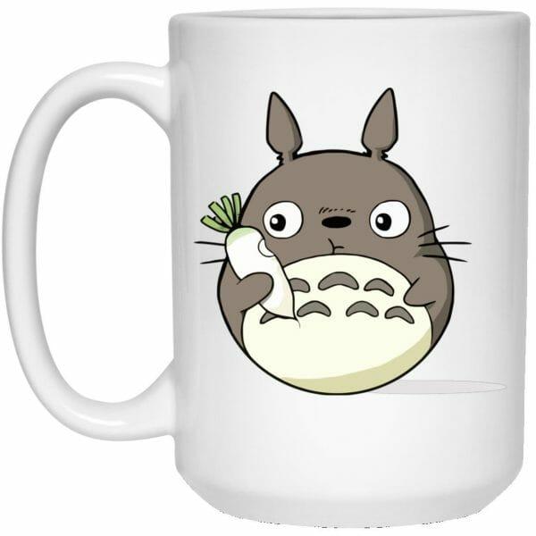 Totoro Eating Turnip Mug