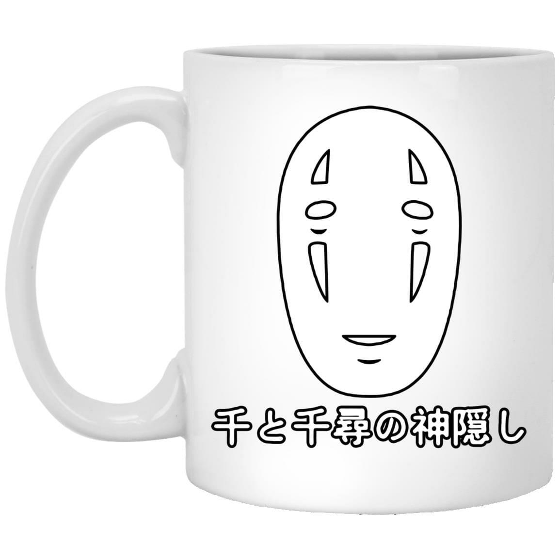 Spirited Away No Face Kaonashi Harajuku Mug