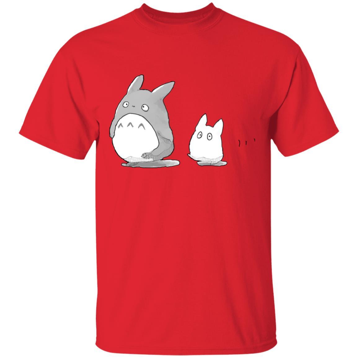 Walking Mini Totoro T Shirt
