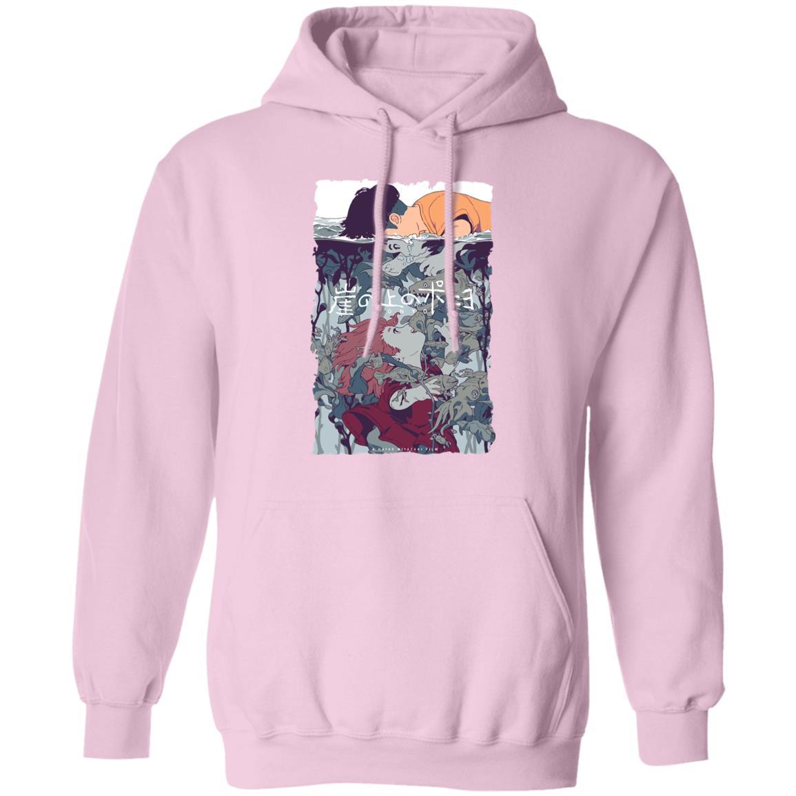 Ponyo and Sosuke Creative Art Hoodie Unisex