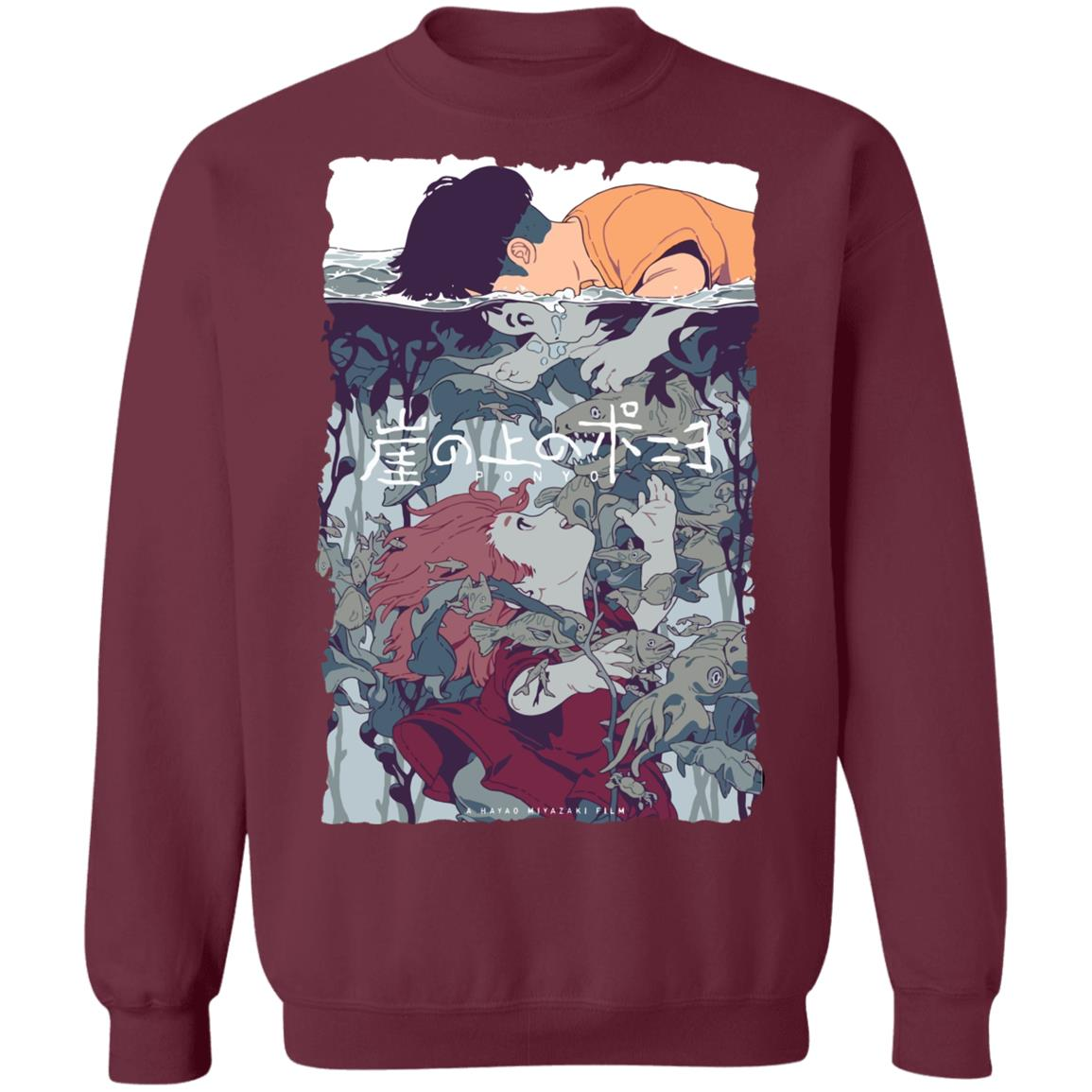 Ponyo and Sosuke Creative Art Sweatshirt Unisex