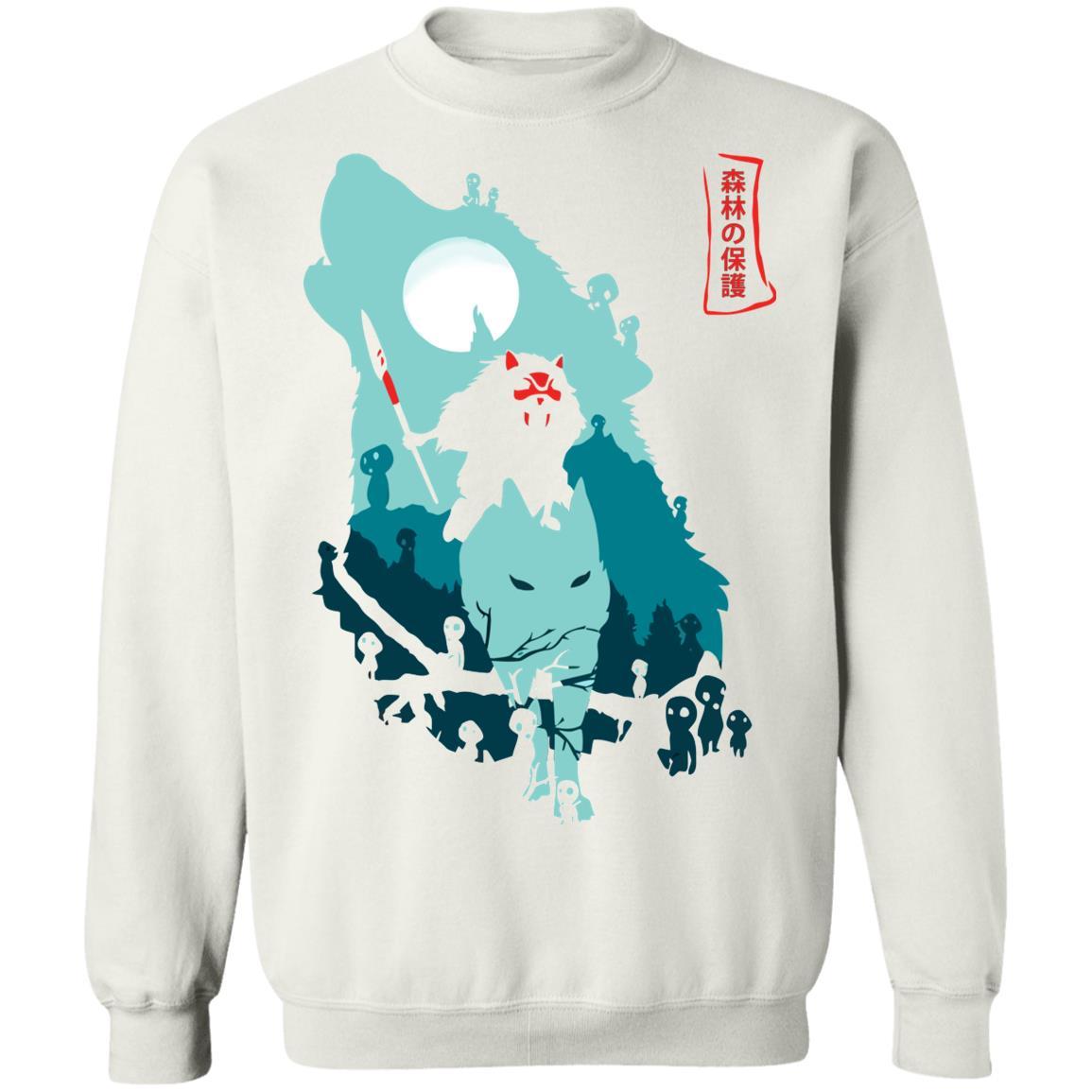 Princess Mononoke – Guardians of the Forest Sweatshirt Unisex