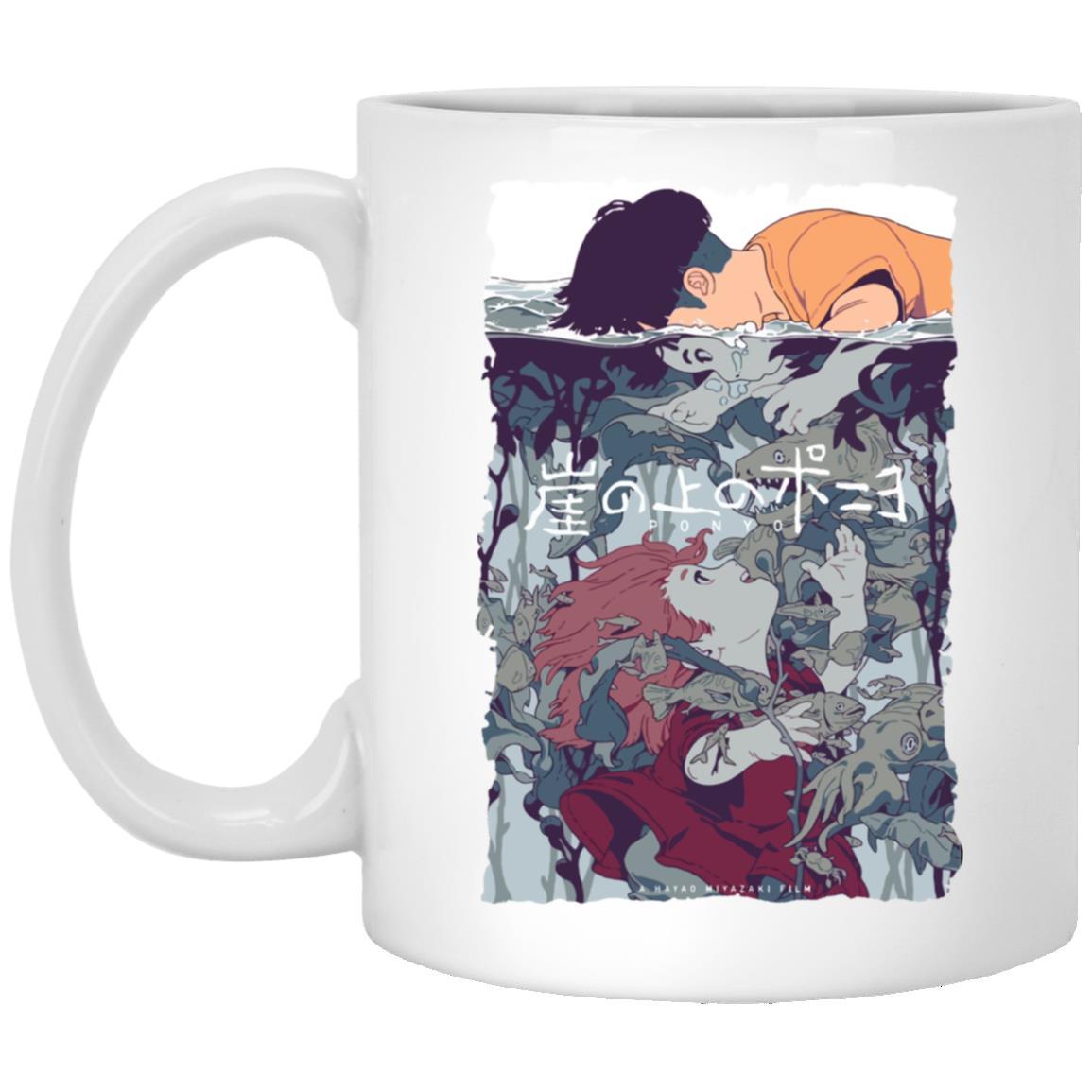 Ponyo and Sosuke Creative Art Mug