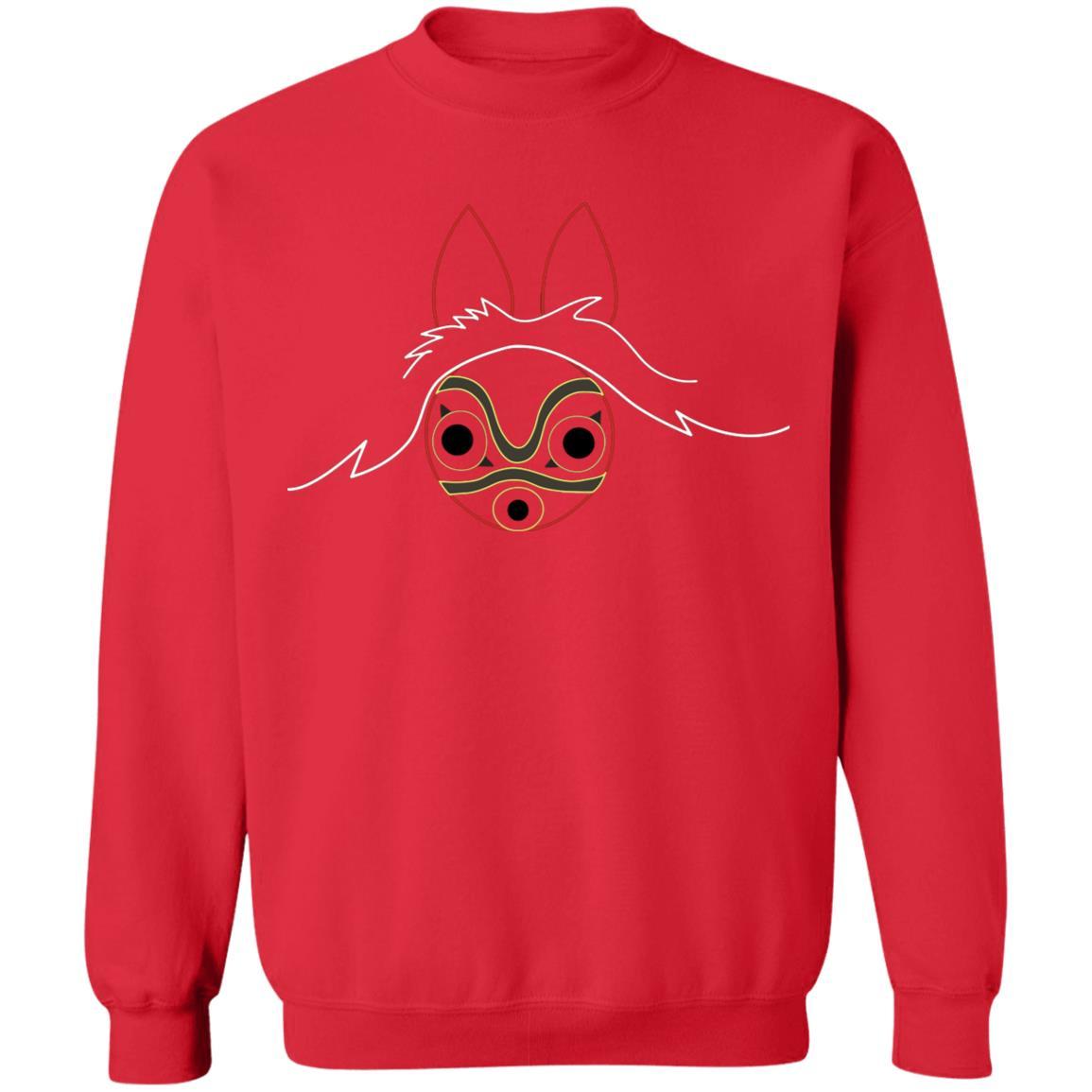 Princess Mononoke Minimalist Sweatshirt Unisex