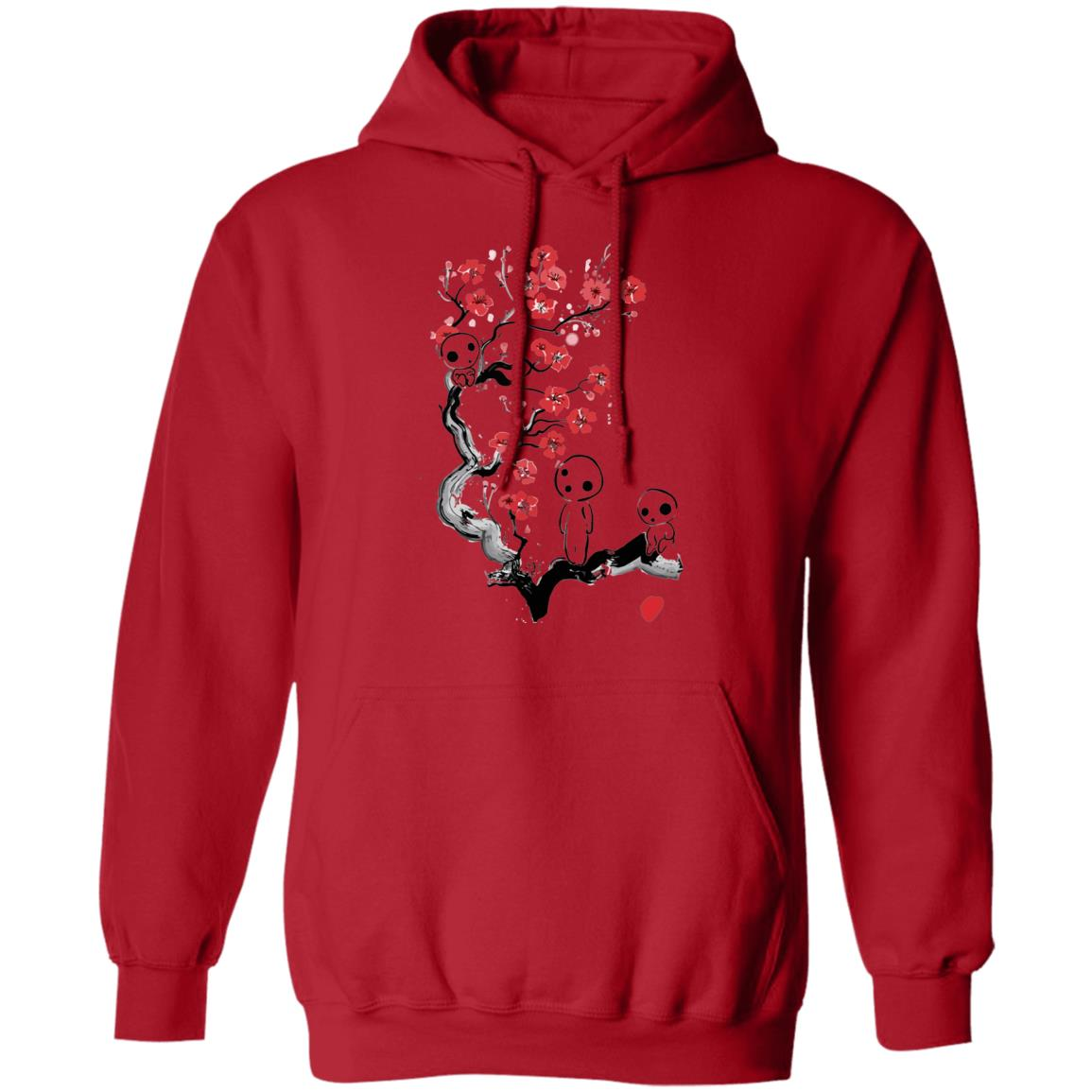 Princess Mononoke – Tree Spirits on the Cherry Blossom Hoodie Unisex