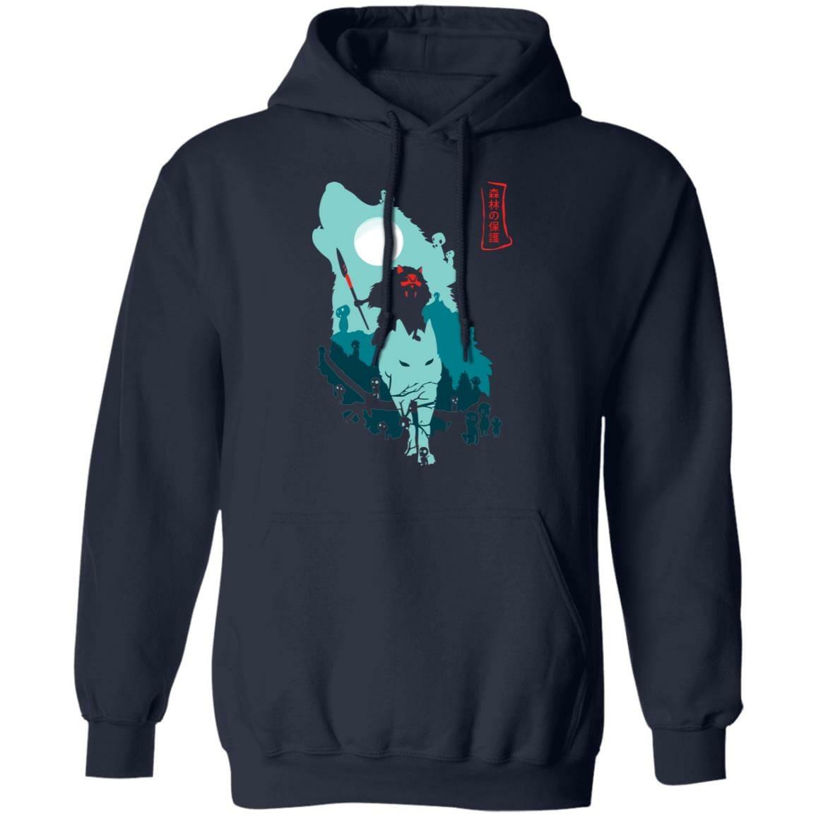 Princess Mononoke – Guardians of the Forest Hoodie Unisex
