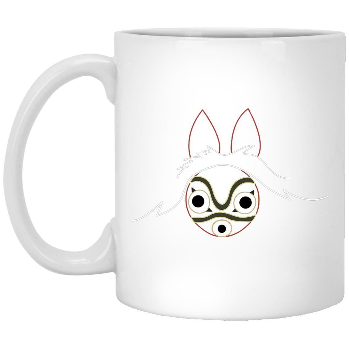Princess Mononoke Minimalist Mug