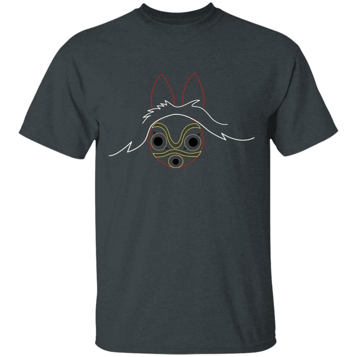 Princess Mononoke Minimalist T Shirt Unisex