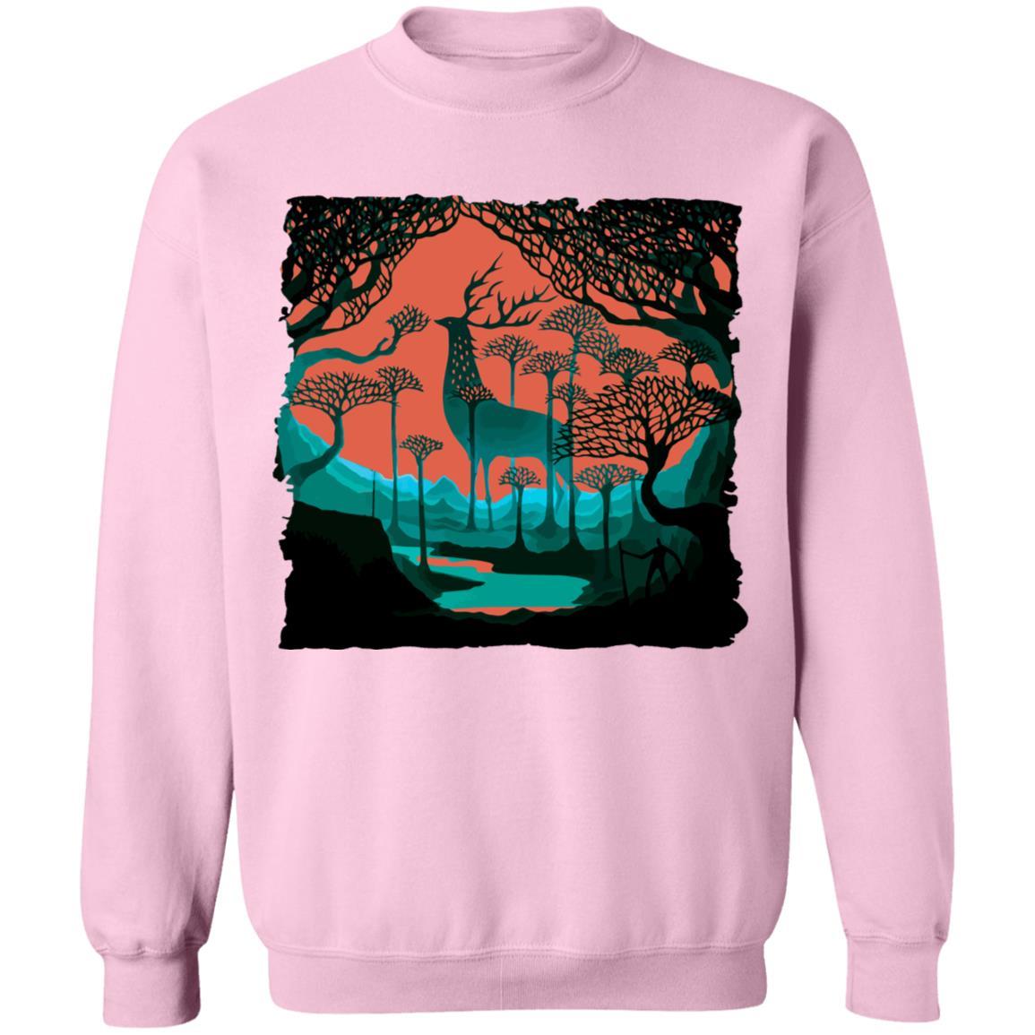 Princess Mononoke – Shishigami of The Forest Sweatshirt Unisex