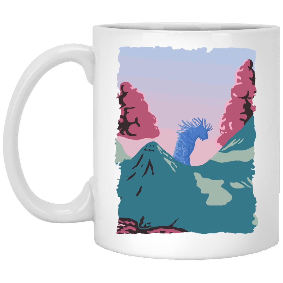 Princess Mononoke – Shishigami Night time Mug