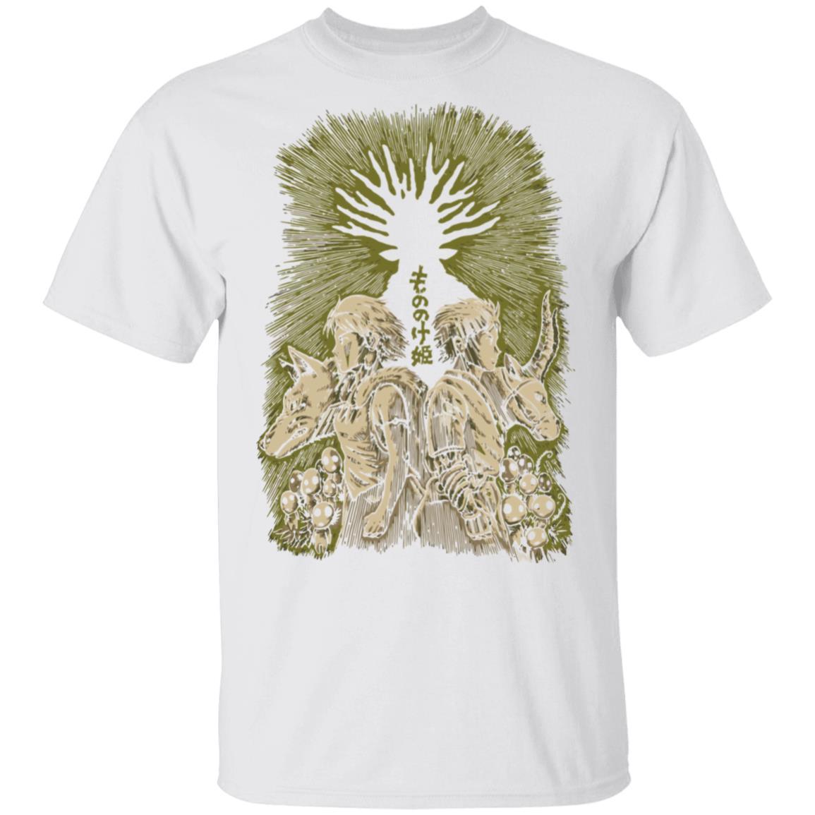 Princess Mononoke – San and Ashitaka T Shirt Unisex