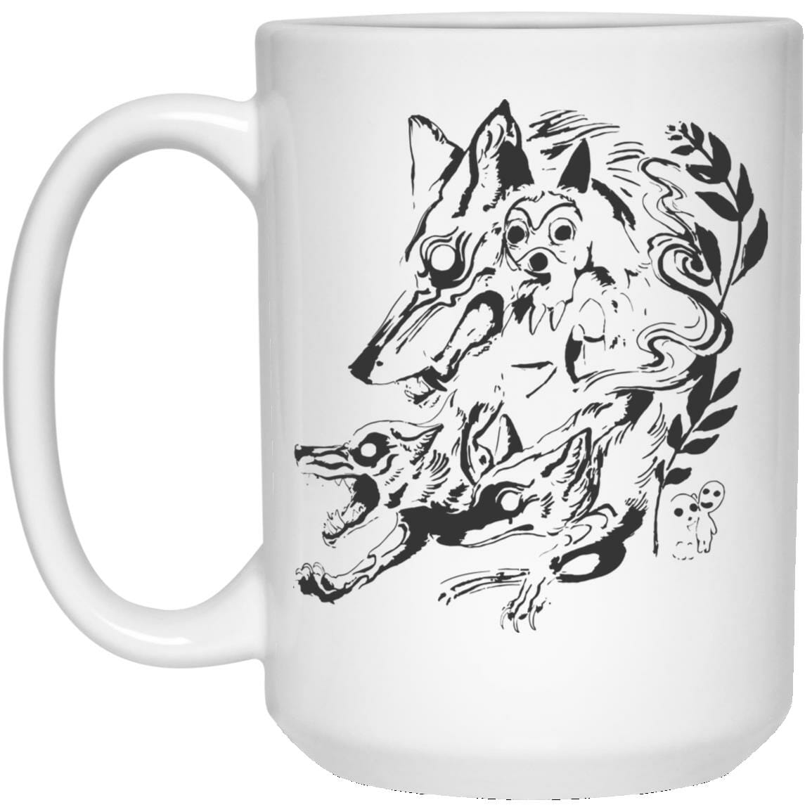 Princess Mononoke and The Wolf Creative Art Mug